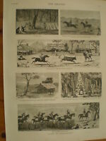Notes in Queensland Australia 1881 prints