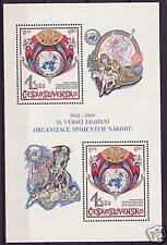 Cecoslovacchia BL. 41 ** 35 anni OSN ONU