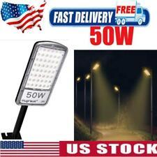 50W LED Road Street Flood Light Garden Lamp Outdoor Yard led security Lighting