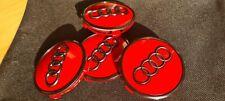 Audi 4m0 601 170 Jg3 Nabenabdeckung Nabendeckel rot Black Edition