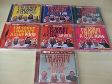 I'm Sorry I Haven't a Clue 1 2 3 4 7 9 & Ann Sp CD Audio Books BBC Radio Collect