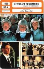 FICHE CINEMA : LE VILLAGE DES DAMNES  Reeve,Carpenter 1995 Village Of The Damned