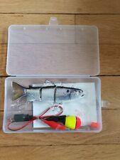 Fishing Lure Bait River Lake Sea USB Robotic Swimming pike/ swimbait leurre
