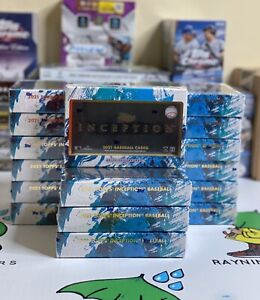 2021 Topps Inception Baseball Live Personal Box Breaks *All Cards Ship*
