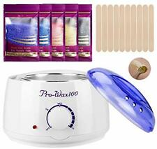 Hair Removal Home Waxing Kit with 5 Flavors Strip less Wax