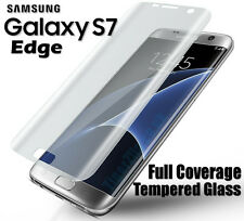 Samsung Galaxy S7 Edge Full Curved 3D Tempered Glass Screen Protector Coverage