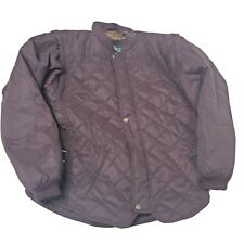 Mountain Horse Women's Size Small Equestrian Jacket Purple Quilted Vest
