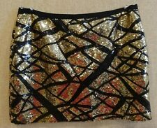 VICTORIA'S SECRET MODA SEQUIN CLUB/PARTY SKIRT DRESS MOD SIZE S SMALL NEW