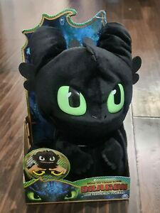 """How to Train Your Dragon TOOTHLESS Squeeze & Roar 11"""" Plush w/ Sound PLUSH READ"""