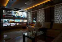 Barco Projection Design £48,000 F85 Projector 11,000 lumens Dual Lamp 3 chip DLP