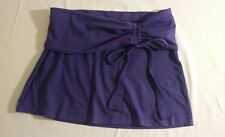 NWT Me Sheeky Strapless Purple Shirt Sz XS
