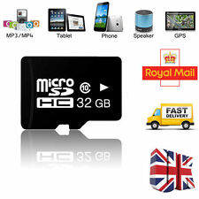 32GB Micro SD TF Flash Class 10 Memory Card for Cell Mobile Phone Tablet PC UK