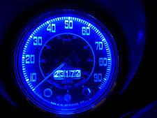 MG MGA MGB MGC MIDGET E10 MES LED Bulb x4 Instrument/Dash Upgrade Set Blue