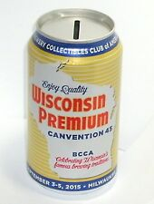 2015 WISCONSIN PREMIUM BEER CAN COLLECTORS AMERICA BCCA MILWAUKEE CONVENTION #45