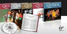 Queen Rare Deluxe Complete Collection La Nacion Spanish Pressing CD + Book