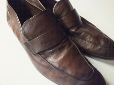 Berluti Mens Shoes Kangaroo Lorenzo Brown Loafers UK 9.5 EU 43.5 Mr Porter £900