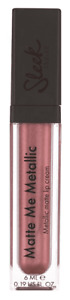 Sleek Matte Me Metallic Lip Cream 6ml - Roman Copper - New & Sealed