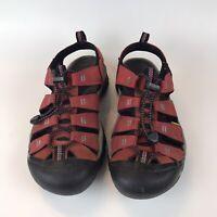 KEEN Newport H2 Men's Sz 9 Red Waterproof Sport Sandals Hiking Walking