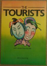 The Tourists (Eurythmics) - Last Laugh Tour Feb 1980 tour programme