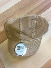 New Era Women's Hat Corduroy Khaki