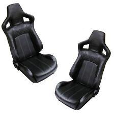 Vinyle Noir + Blanc SVX style inclinable sièges Land Rover Defender intérieur 90 110