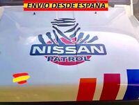 Adhesivo Vinilo Decal Calcomania para Coche 4x4 Capó Nissan Patrol Dakar 55x50cm