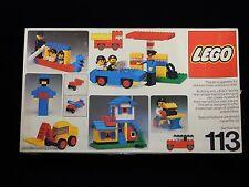 Lego 1977 Universal Building Set #113 w/Original Box RARE