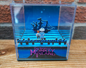 THE SECRET OF MONKEY ISLAND - 3D Game Cube Diorama