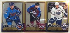 2008-09 O-PEE-CHEE OPC METAL PARALLEL 3 CARD LOT— WILLIAMS, CLARK, POULIOT