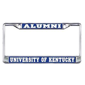 "UK UNIVERSITY OF KENTUCKY ""ALUMNI""  License Plate / Tag Frame"