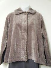 Slenderella SUPER SOFT FLEECE Bed Jacket   BJ8330