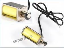Mini Solenoid Valve Pull Push DC 12V Electromagnet Suction Rod Electronic Micro