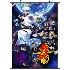 Anime Gintama Sakata Gintoki wall Poster Scroll cosplay 3226