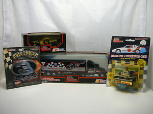 Dale Earnhardt #3 Goodwrench Transporter & Monte Carlo 1989 1:64 1:43 - Lot of 4