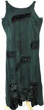 XL 1X Plus Boho Gothic Goth Renaissance Medieval Embroidered Gypsy Dress Tunic