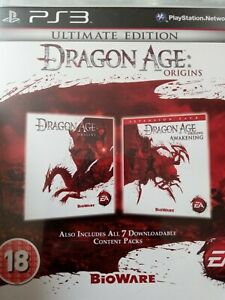 Dragon Age Origins Ultimate Edition PS3 Game