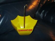 Vintage Store Counter Advertizing Display Gordon's Gin Umbrella