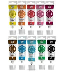 Rainbow Dust ProGel Profi Lebensmittelfarbe Gelfarbe - Lieblingsfarben 10 Farben