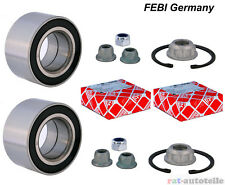2xRadlagersatz FEBI Vorne rechts+links VW Bora,Golf IV 1J1,1J5 New Beetle
