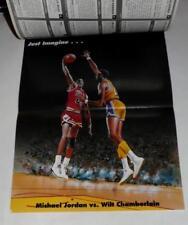 1991 TUFF STUFF JR * FOOTBALL * BASKETBALL UNCUT SHEETS & MICHAEL JORDAN POSTER