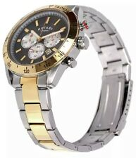 Rotary Men's Two-Tone Chronography Bracelet Watch GB03429/20. New in Box. 339