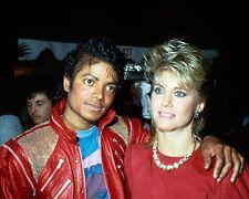 "Olivia Newton John / Michael Jackson 10"" x 8"" Photograph no 66"
