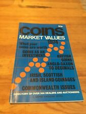VINTAGE BOOK Coin Market Values 1974 DIRECTORY A COINS MAGAZINE EXTRA