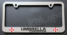 Umbrella Corporation Resident Evil Chrome License Plate Frame