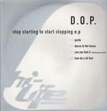 "D.O.P(12"" Vinyl)Stop Starting To Start Stopping EP-Nu Life-UK-Ex/New"