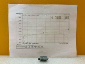 NoiseCom MC65132 500 MHz to 18 GHz, 32 dB ENR, 28VDC, Noise Source. New + Data!