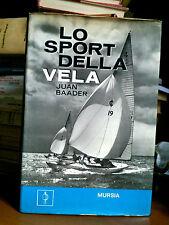 Juan Baader - LO SPORT DELLA VELA - Ed.Mursia 1970