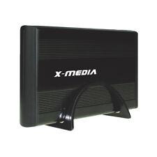 X-MEDIA 3.5-Inch USB 2.0 IDE SATA Aluminum Hard Disk Drive HDD Enclosure Case