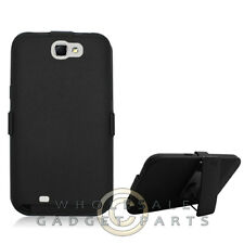 Hybrid Snapster Case for Samsung Galaxy Note II N7100 Black Case Cover Shell