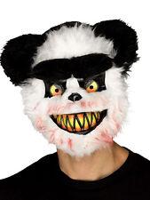 Adult Killer Critter Zombie Panda Bear Evil Horror Halloween Fancy Dress Mask